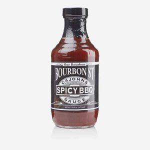 CaJohns Bourbon Street Spicy BBQ Sauce