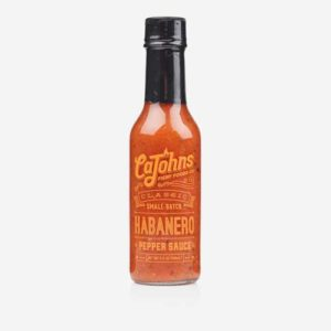 CaJohns Classic Habanero Pepper Hot Sauce