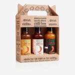 3 x Hot Sauce Gaveæske – South Devon