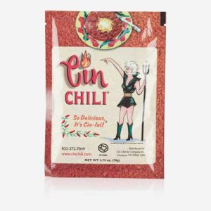 Chili Con Carne – Cin Chili