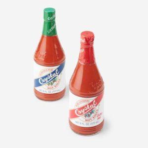 Louisiana Pure Crystal Hot Sauce Pack