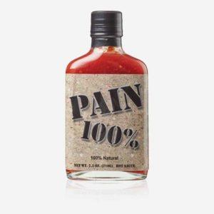 Pain 100 percent
