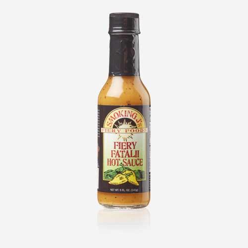 Smoking J's Fiery Fatalii Hot Sauce
