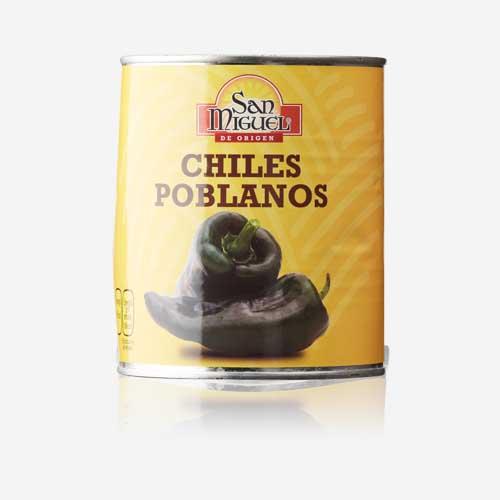 CHILES POBLANOS
