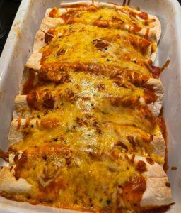 Enchiladas i fad